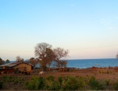 Fishing village along Lake Malawi