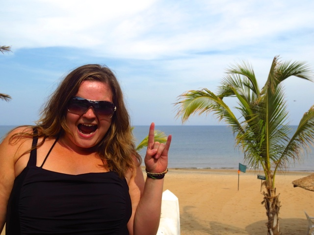 My first time on the beaches of Lake Malawi!