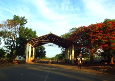 The Zambia/Malawi border crossing