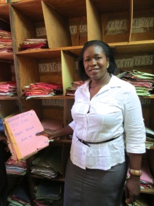 Elizabeth's SACCO still processes every transaction manually with ledger books